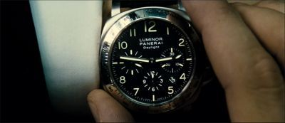 Watches in Movies - Transporter2 - Panerai Daylight