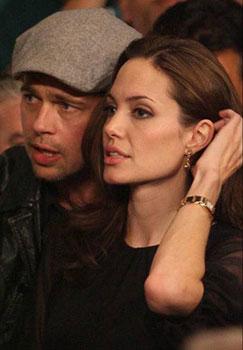 Angelina Jolie watch -  Cartier Tank Louis