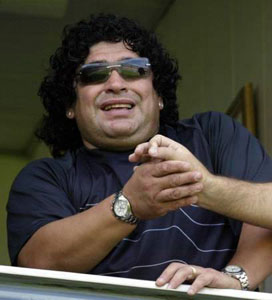 Celebs watches - Diego Maradona