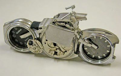 Motorcycle Watches - unusual watch