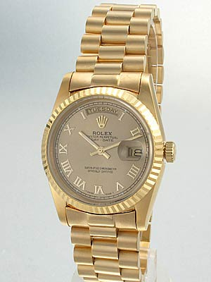 18K Gold Rolex Watch