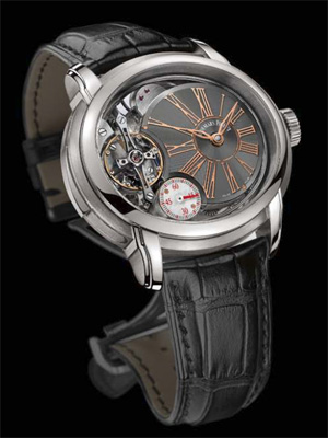 Hand-wound Millenary Minute Repeater at SIHH 2011 by Audemars Piguet