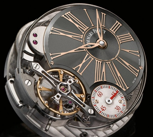 Millenary Minute Repeater watch FACE