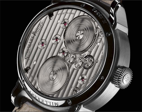 Millenary Minute Repeater watch Back