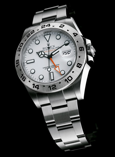 Baselworld 2011 - Rolex Oyster Perpetual Explorer II