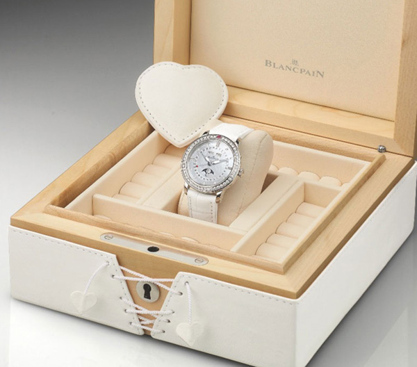 Blancpain luxury watches for Saint-Valentine 2011