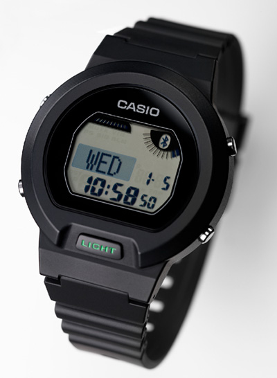 Casio develops Low Energy Watch with Bluetooth for Smart Phones Connection