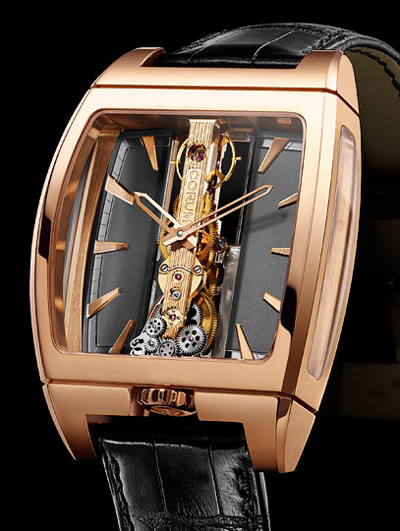 Baselworld 2011 Preview - Corum Golden Bridge Automatic