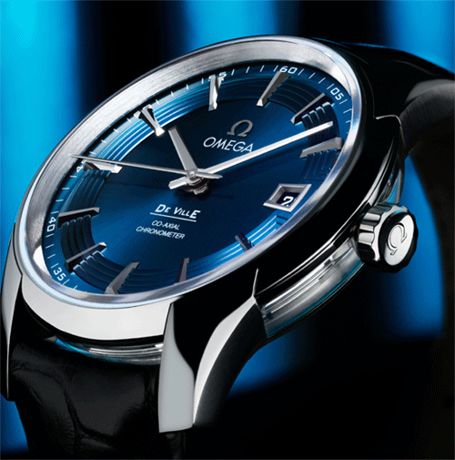 Omega Hour Vision Blue watch