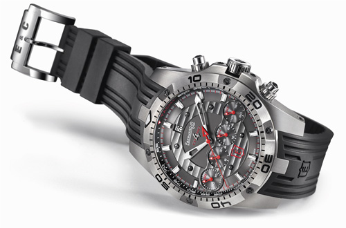 Baselworld 2011 Preview - Eberhard & Co. Chrono 4 Geant Titan Limited Edition
