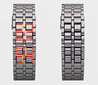 Faceless-Led-Watch