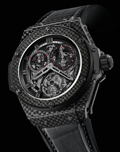 Hublot King Power Carbon Fibre Cathedral at Baselworld 2011