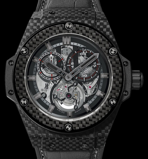 Hublot King Power Carbon Fibre Cathedral - Worlds First carbon fibre watch