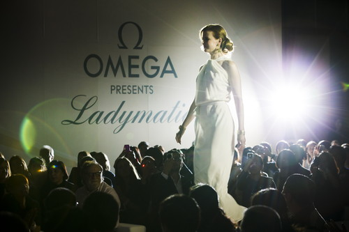 MEGA brand ambassador Nicole Kidman presenting Ladymatic on the catwalk in Beijing