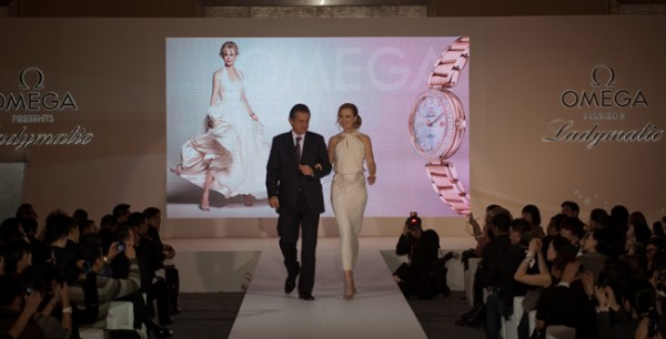 OMEGA launches Mechanical Ladymatic Watch Collection in Beijing