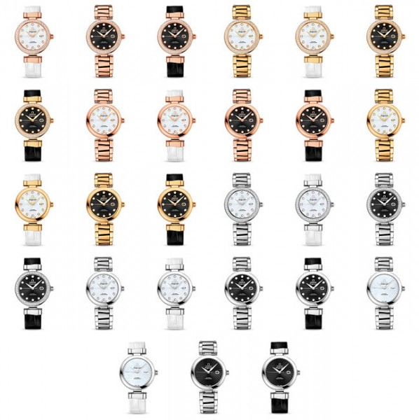 Omega Ladymatic watch collection: