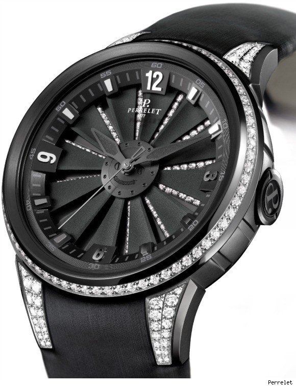 New Perrelet Turbine XS Ladies Watch at Baselworld 2011