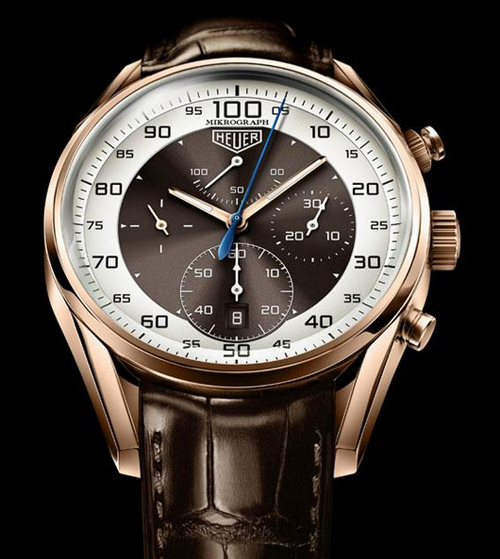 Baselworld 2011 Preview - TAG Heuer Carrera Mikrograph