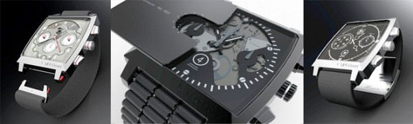 Winners of TAG Heuer's Art of Watchmaking competition