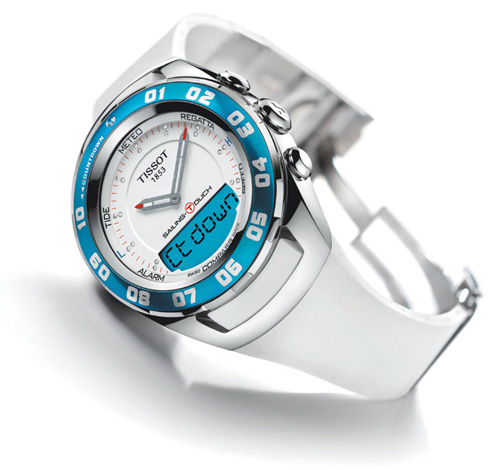 Tissot watches for sailing - Sailing-Touch