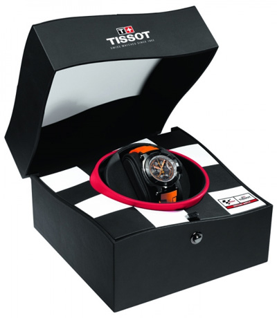 Tissot New T-Race MotoGP Limited Edition watch box  2011