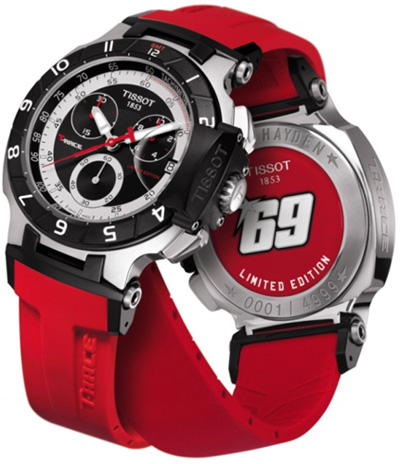 Tissot T-Race Nicky Hayden 2010 - Limited Edition