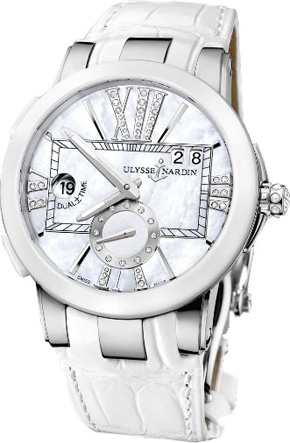 Ulysse Nardin Dual Time Executive GMT watch