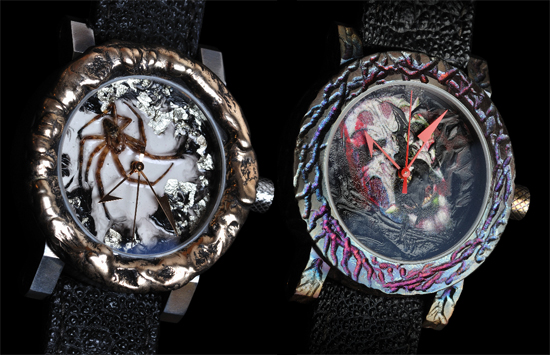 yvan arpa halloween special edition watch