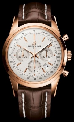 Transocean Chronograph Caliber 01 Limited Edition - Mercury Silver