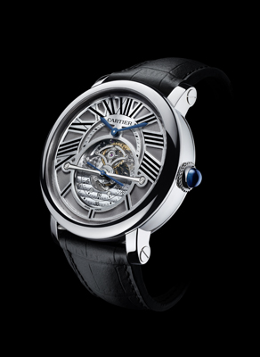 Cartier Montre Rotonde Astrorégulateur – Defying the Gravity