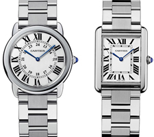 Cartier Tank Solo Small/Large watches