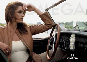 Cindy Crawford - Faithful Omega Watch Ambassador