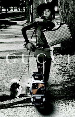 Gucci Watch Spring 2010 Advertising Campaign - Beautiful Time