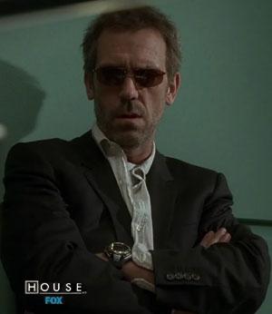 House MD wears casio watch