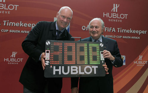 Hublot Becomes the Official Timekeeper for FIFA World Cups 2010 and 2014