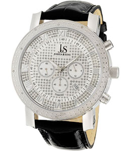 joshua-sons-mens-diamond-chronograph-watch