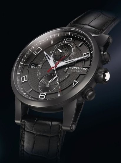 Time Walker TwinFly Chronograph Limited Edition at SIHH 2011 by Montblanc
