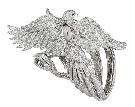 Cartier - Phoenix-shaped watch