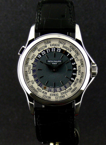 Patek Philippe - Platinum World Time