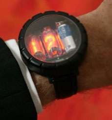 Nixie Watch - weird watch