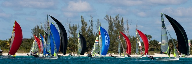 Seiko 29er and 49er World Championship Regatta 2010 on Grand Bahama