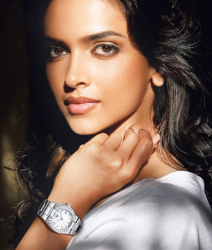 Deepika Padukone and Tissot watches