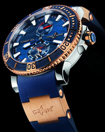 Ulysse Nardin Hammerhead Shark Titanium watch - Limited-Edition