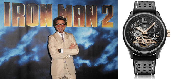 wristwatch iron man 2
