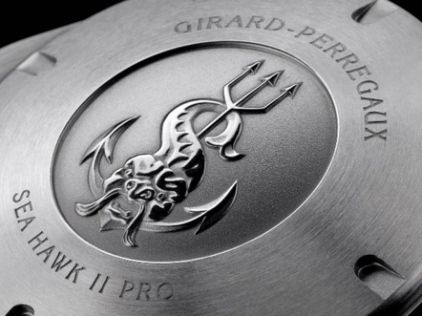 Girard-Perregaux - Sea Hawk Pro 1000m back side