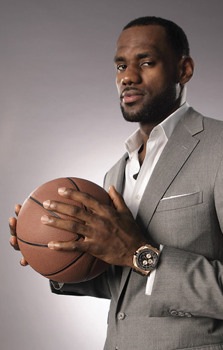 NBA basketball player LeBron James is a new ambassador of Audemars Piguet