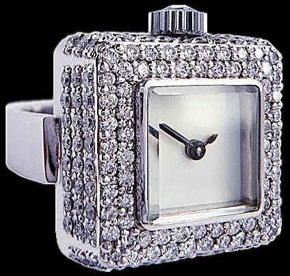 Luxury watches from Mo Eden - Digit Timepiece Ring