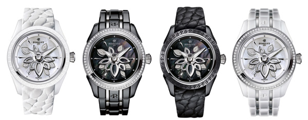 New Perrelet Diamond Flower Ceramic watch