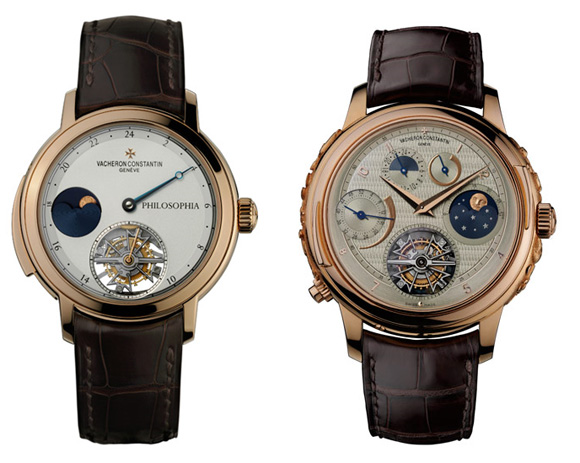 Vacheron Constantin Atelier Cabinotiers Philosophia and Vladimir watches