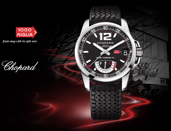 Chopard Contest - Win the Mille Miglia GT XL Power Control